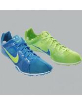 Nike Zoom Victory Bleue/Verte 2012