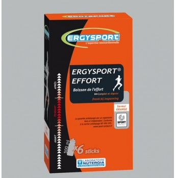 Ergysport Effort - Goût orange - stick